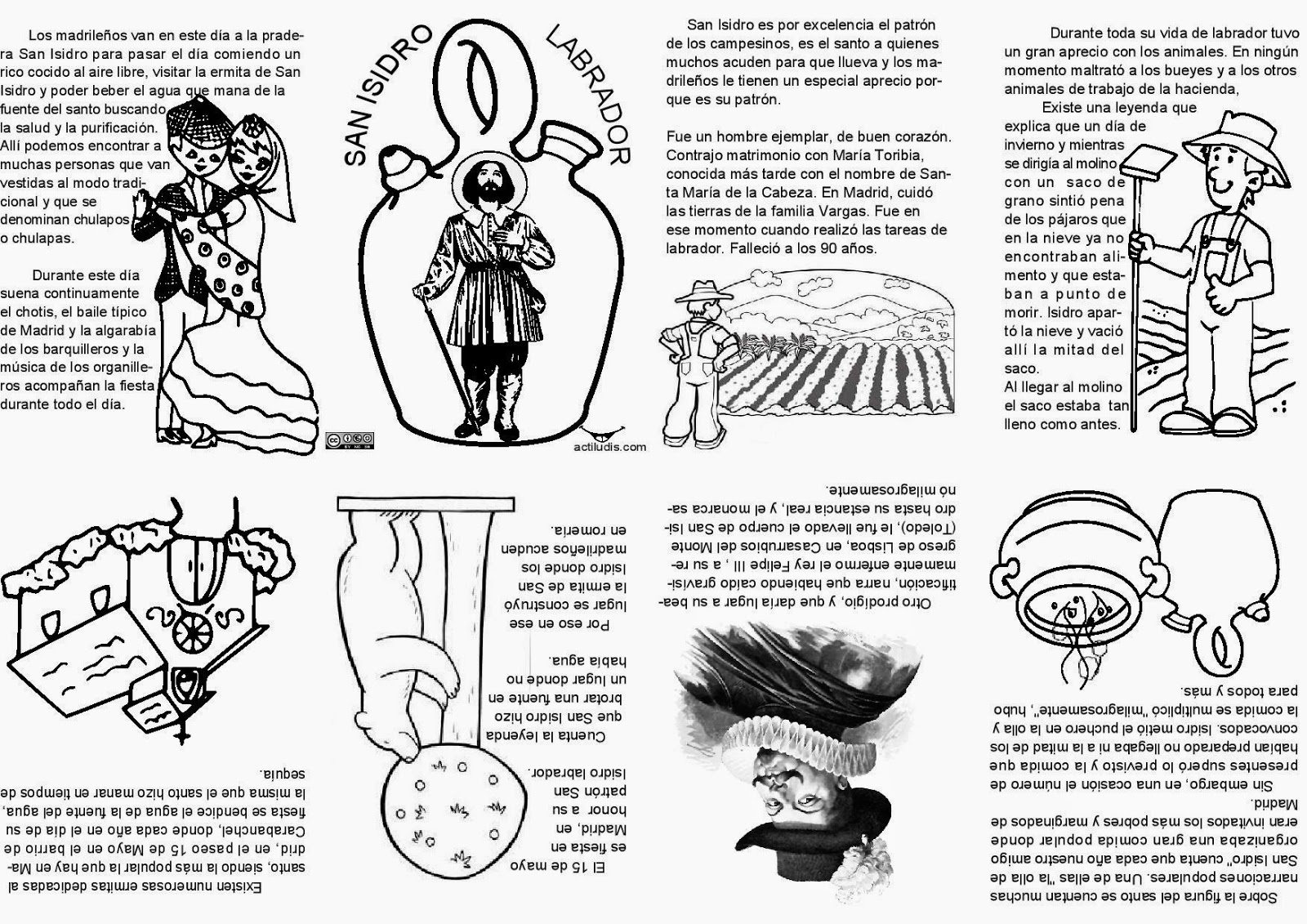 RELI VILLAAMIL: Mini Libro De San Isidro