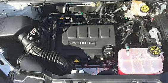 2017 Chevrolet Trax Engine