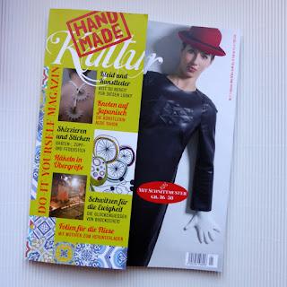 Zeitschrift, Magazin, Handmade Kultur, challengehandmadekultur, loewchenzimmer, Löwchenzimmer