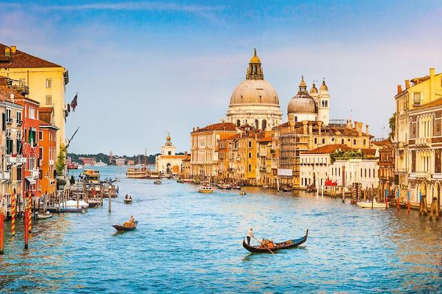 Vista da cidade de Veneza
