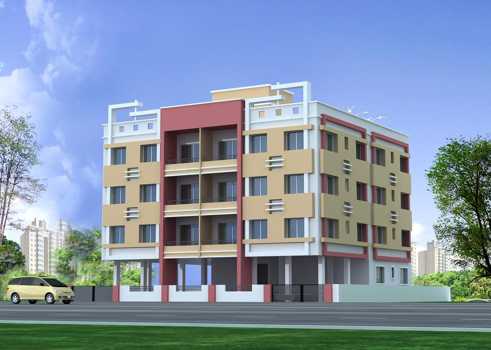 Spectrum consultant: Hari vandan Apartment - Apartment Elevations Photos