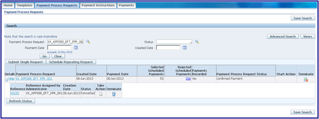 Oracle Applications: Oracle R12 Electronic Funds Transfer