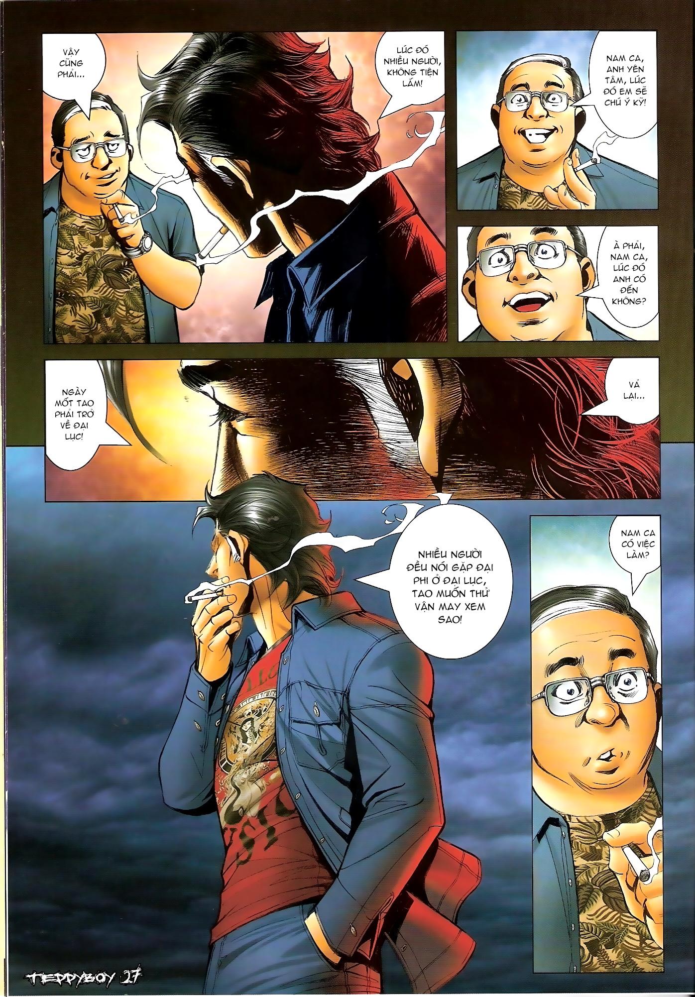 Người Trong Giang Hồ - Chapter 1305: Trước ngày quyết chiến - Pic 24
