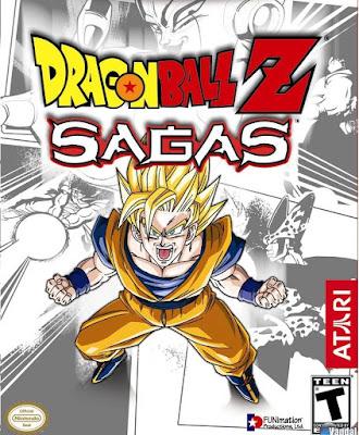 Dragon Ball Z Sagas PS2 GAME ISO