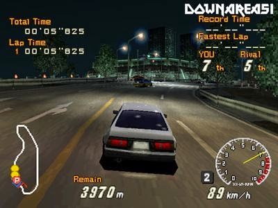 Racing Lagoon PS1 ISO - Download Game PS1 PSP Roms Isos | Downarea51