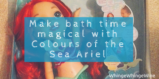 We review the Disney Colours of the Sea Ariel Toddler Doll from Jakks Pacific.