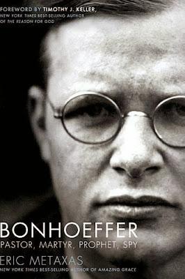 Bonhoeffer by Eric Metaxas - book cover