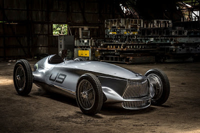 Infiniti prototype 9 electric vehicle
