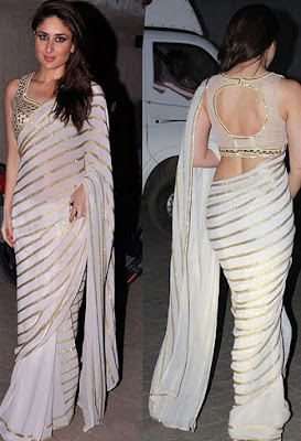 Best Looks Of Kareena Kapoor In Designer Sarees