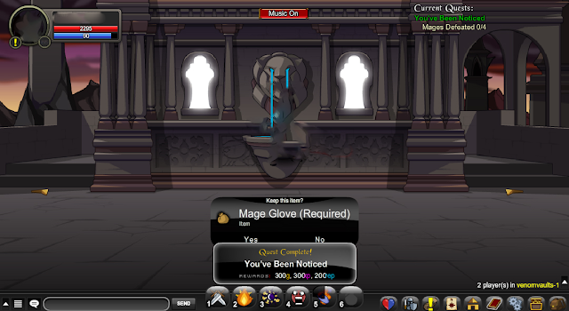 Fastest Thunderforge Rep Bot AQW Grimoire 1