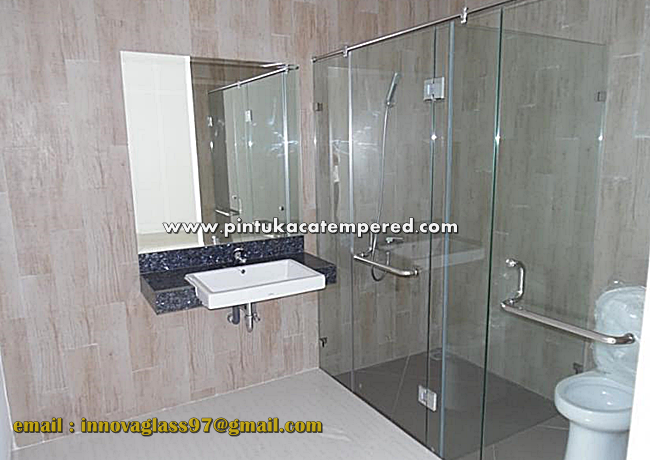 Pintu Kaca Shower Screen Jagakarsa