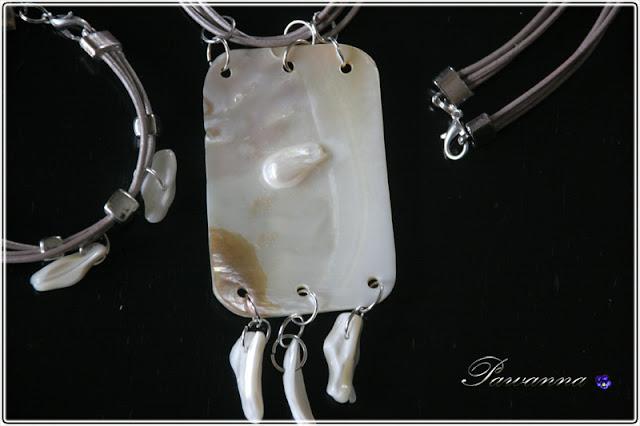 pearl jewellery, see shells jewellery, biżuteria z masy perłowej