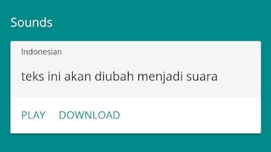 download suara google translate di hp
