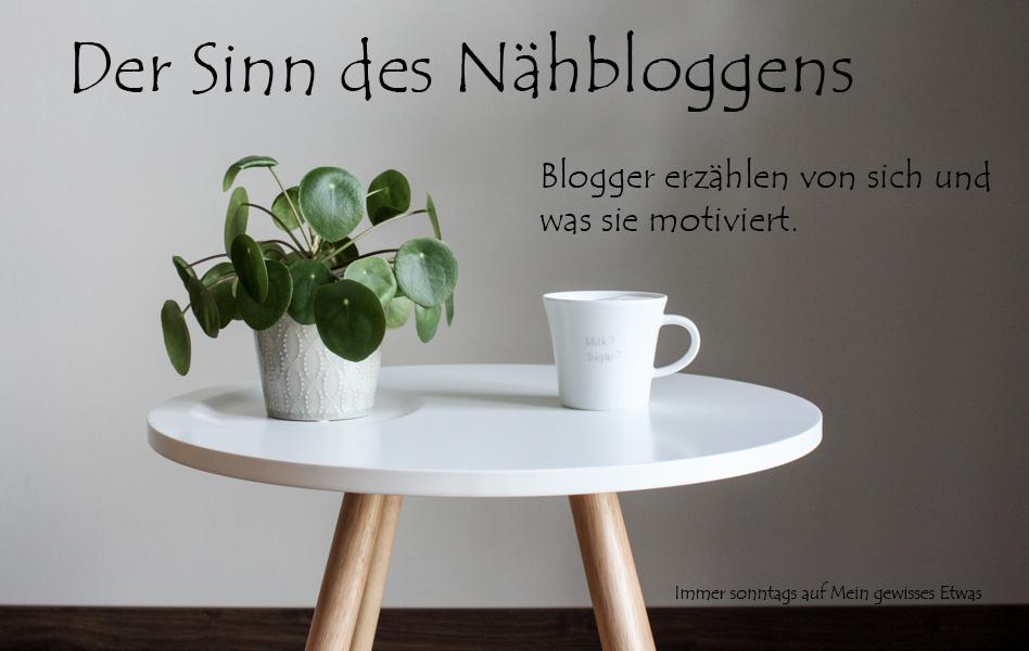sonntagsrunde zum sinn des n hbloggens hella von miss margerite erz hlt mein gewisses etwas. Black Bedroom Furniture Sets. Home Design Ideas