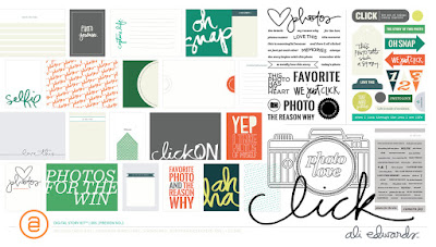 Ali Edwards' Click Story - Kit-to-copy