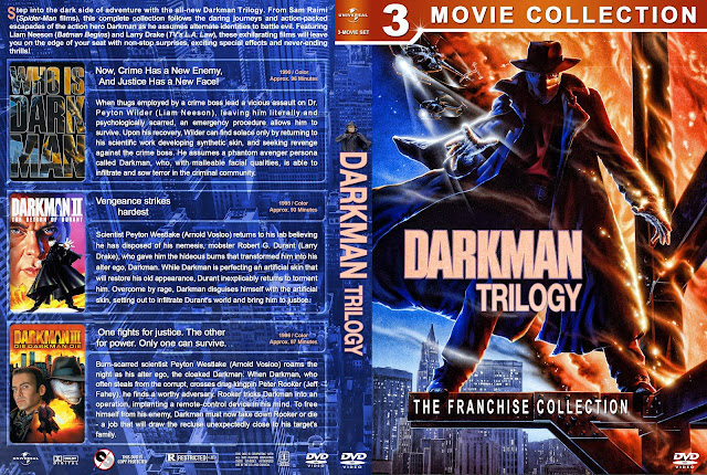 Darkman Trilogy DVD Cover