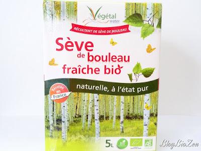 Sève de bouleau fraîche bio - Végétal Water