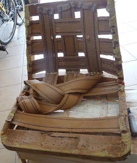 jak odnowić fotel z prl