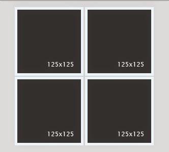 Cara Membuat Kotak Banner Iklan 125x125 Di Blogger