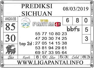 """Prediksi Togel """"SICHUAN"""" PANTAI4D 08 MARET 2019"""