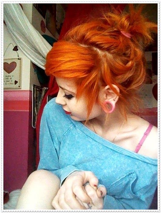 Yeni Kızıl Saç Renk Tonlları ve Keismleri
