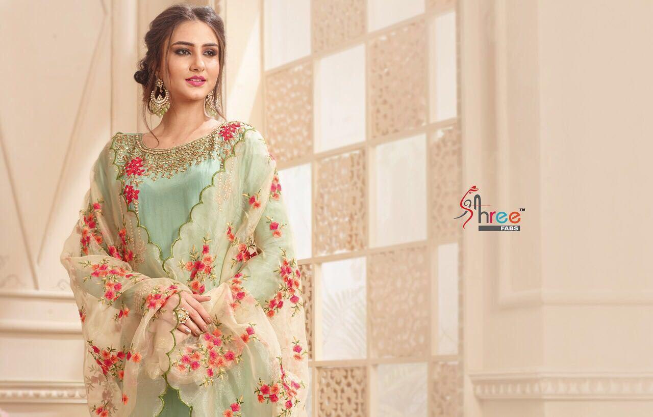Shree fabs gujarish salwar kameez catalog Of Salwar Suit