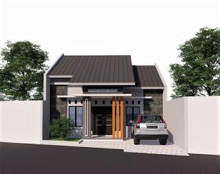 Desain Rumah Ukuran 9x14m
