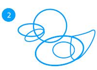 cara-menggambar-bebek-di-adobe-illustrator