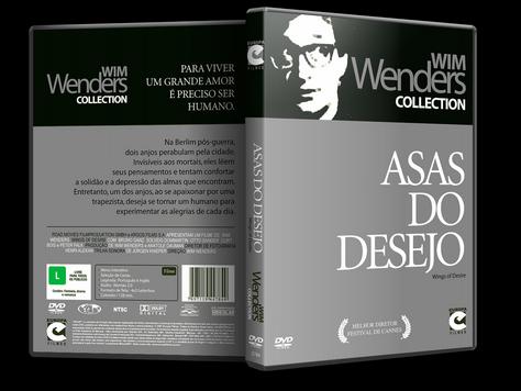 Capa DVD Asas do Desejo