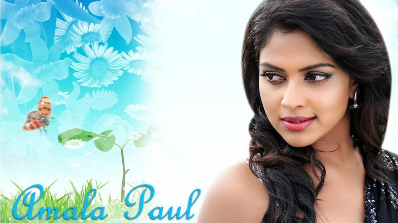 Cute Amala Paul Hd wallpaper for download
