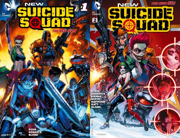 the online buzzletter movie trailer dc comics suicide