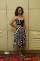 Actress Aditi Myakal Looks gorgeous in Sleeveless Deep Neck Top at Ami Tumi success meet ~  Exclusive 201.JPG