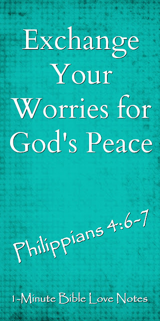 Philippians 4:6-7, peace of God, Anxious thoughts