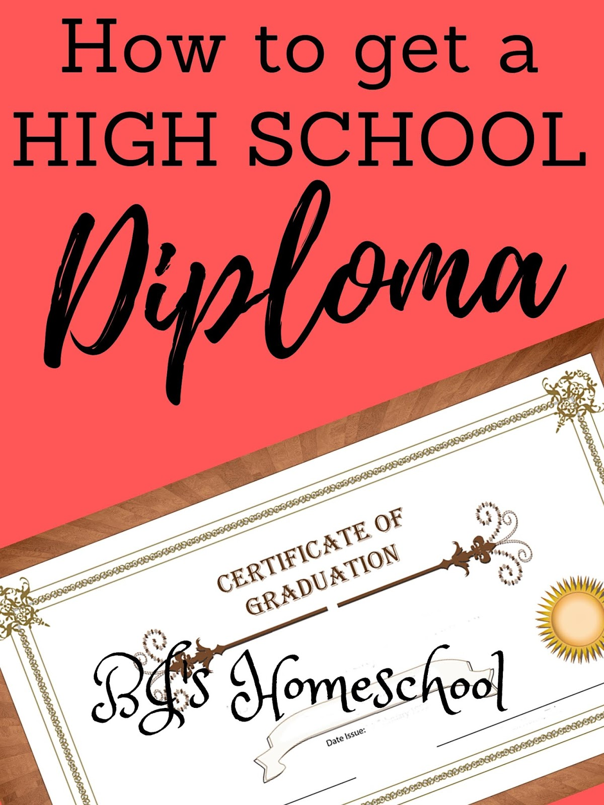 Bj S Homeschool Homeschool High School Diplomas And How To