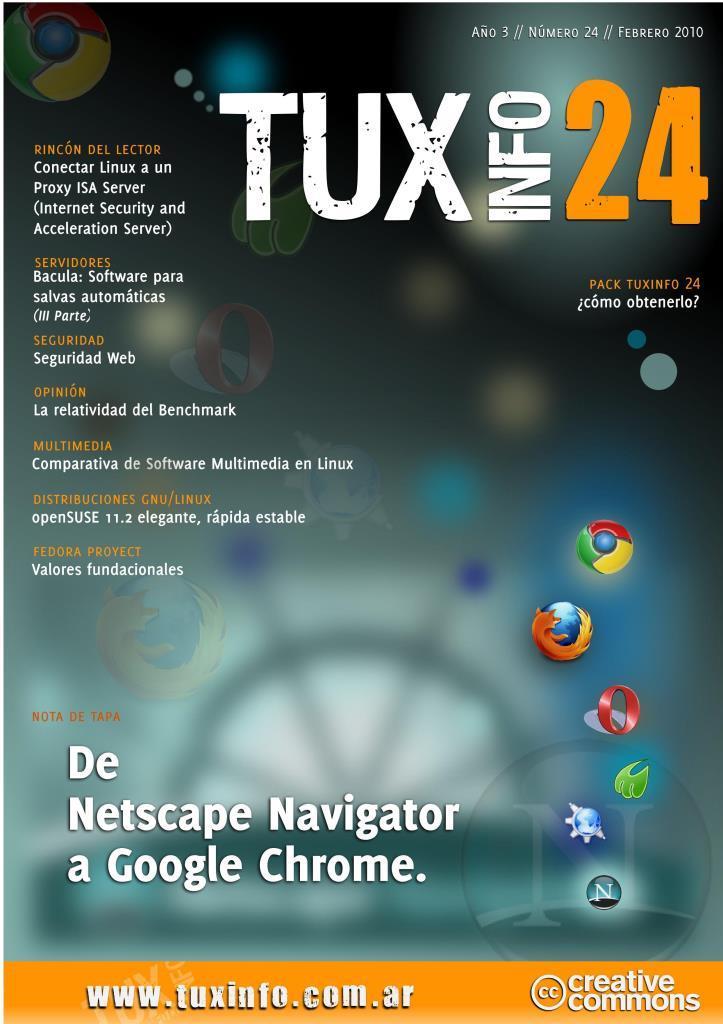 TuxInfo Nro. 24 – De Netscape Navigator a Google Chrome