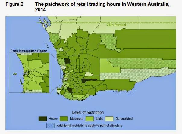 Map Of Western Australia 26th Parallel.Economics New Zealand Three Decades Later Still Bonkers
