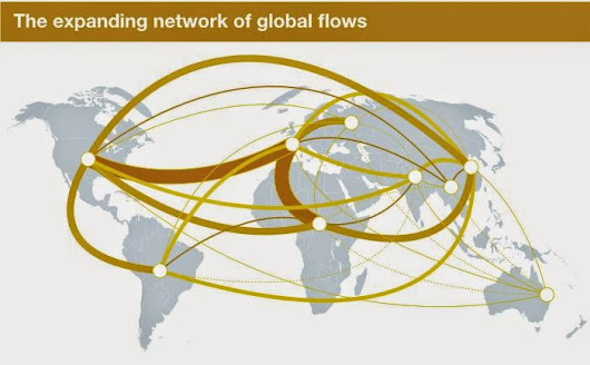 The Expanding Network of Global Flows