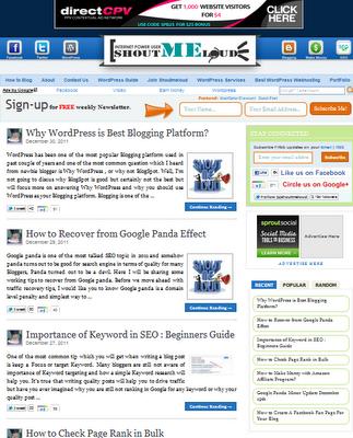 ShoutMeLoud Clone Blogger Template - Blogger Templates Cloud