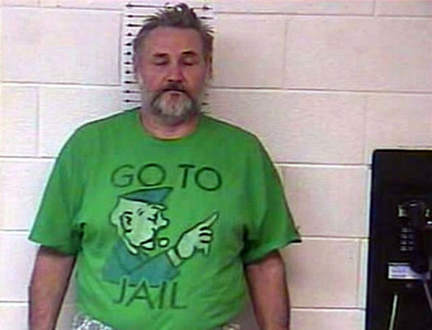 GO TO JAIL mugshot t-shirt. PYGear.com