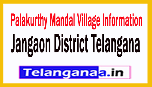 Palakurthy Villages in Palakurthy Mandal Jangaon District Telangana