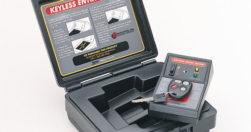 What is the Santronics Keyless Entry Tester?