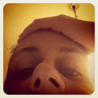 Hilary S Broken Face We Re Veering Portside Capt N
