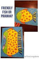 http://reliefteachingideas.com/fish-or-piranha/