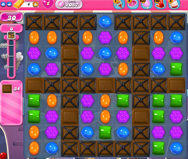 Candy Crush Saga 2057