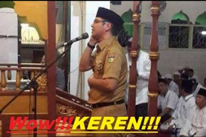 Suara Adzan Walikota Palu Pasha Ungu Buat Haru Warganet Nonmuslim, Begini Komentar Mereka...
