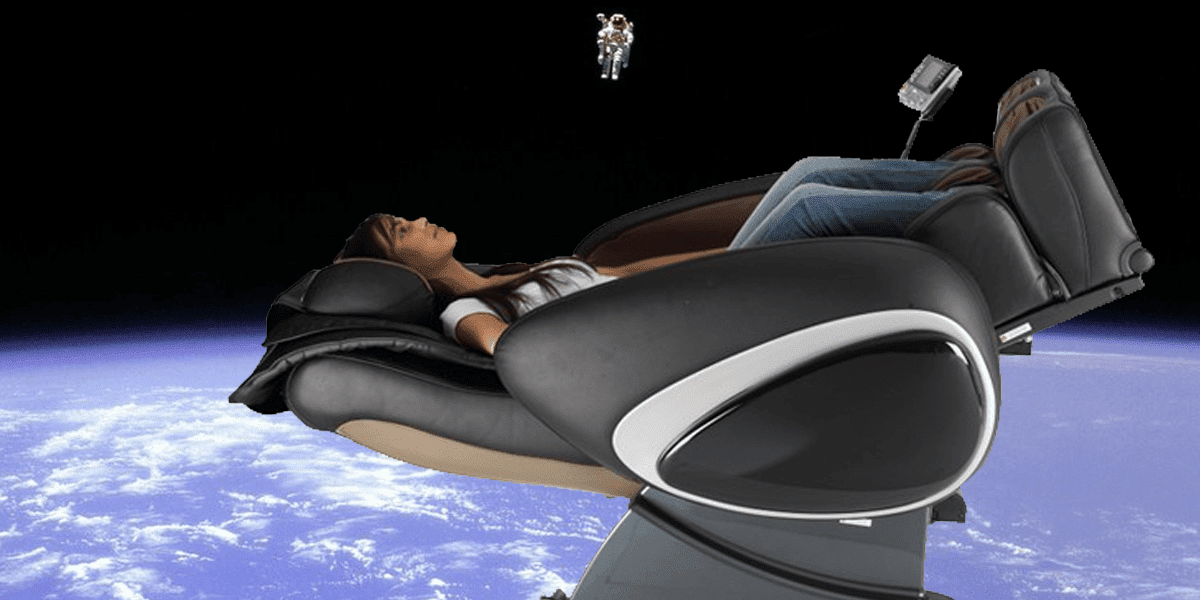 Sillón masaje de gravedad cero