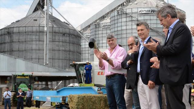 """Gobierno de Macri """"complaciente"""" ante intento de Monsanto para cobrar regalías"""