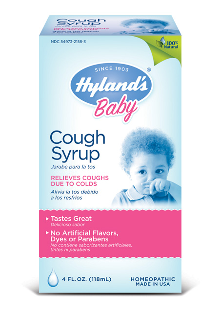 Hyland baby cough syrup