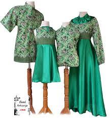 Baju Batik Keluarga Seragam Pesta Pernikahan