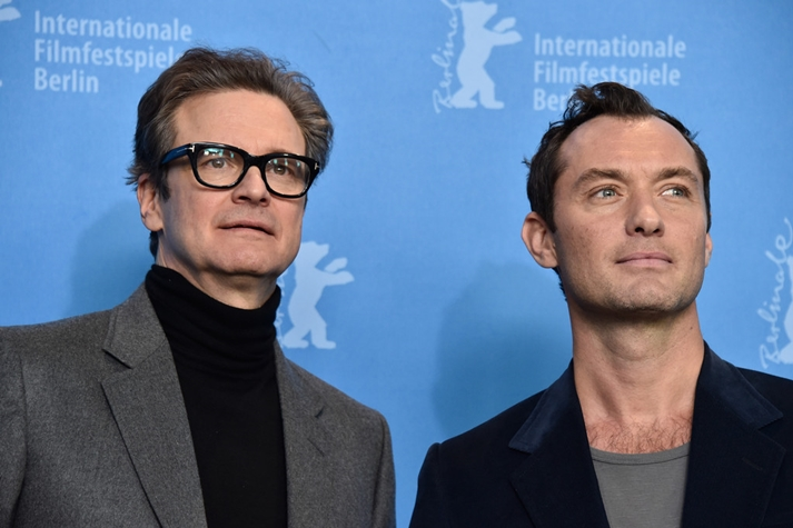 Colin Firth y Jude Law en Berlín